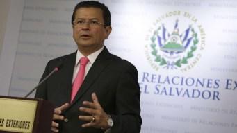 """El Salvador envía """"nota de protesta"""" a Estados Unidos"""