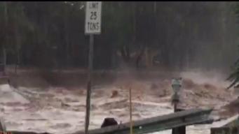 Inundación destructiva