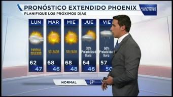 El pronóstico del tiempo en Arizona