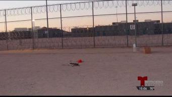 Juguete aeronave intenta entrar a reclusorio cargado de droga