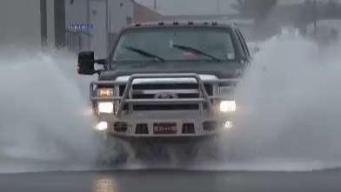 La tormenta Barry deja copiosas lluvias