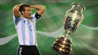 La pesadilla de Martín Palermo en la Copa América