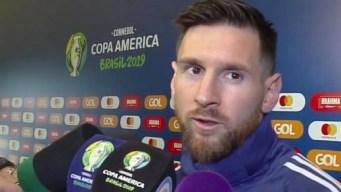 """Messi: """"Hay corrupción. Todo está armado para Brasil"""""""