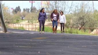 Madre liberada por ICE se reúne con su familia