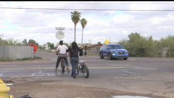 Preocupa a vecinos accidentes viales; acusan falta de señalización