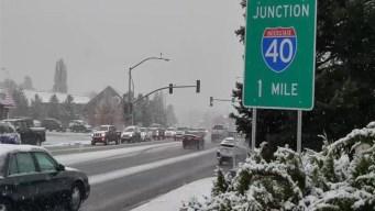 En video: así  recibe Flagstaff  la primera nevada en noviembre