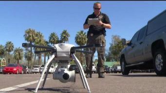 Así son los drones que surcan el cielo de Arizona