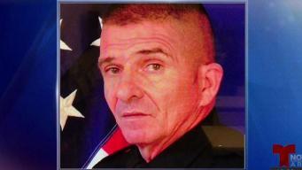 Oficial de policía muere realizando su deber