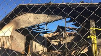 Voraz incendio deja a familia sin hogar