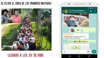 Notas virales: Quince de Ruby y cambios en WhatsApp