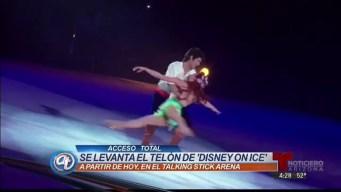 Priscilla se cuela entre los personajes de Disney On Ice