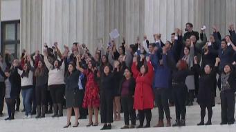 Reacciones de dreamers tras escuchar argumentos en Corte