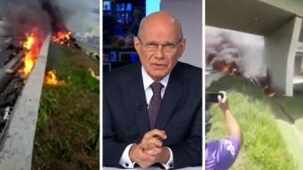 Reconocido periodista muere en accidente de helicóptero