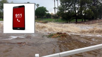 Números a marcar en caso de emergencia por lluvias