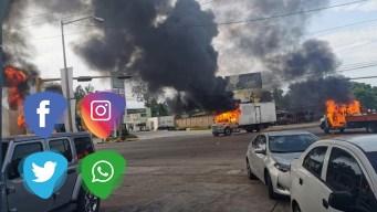 Reacciones en redes tras terror en Culiacán