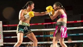 "Sulem Urbina muestra su ""punch"""