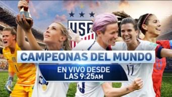 Nueva York celebra a las Campeonas del Mundo