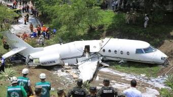 Avioneta de EEUU se parte en 2 al aterrizar en Honduras