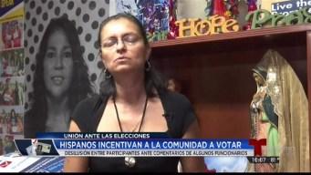 Hispanos  reaccionan ante comentarios de exfuncionarios