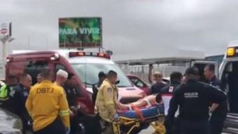 Alocada persecución: autos chocados, heridos y arresto