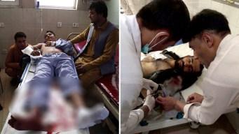 Menor con explosivos convierte boda en baño de sangre
