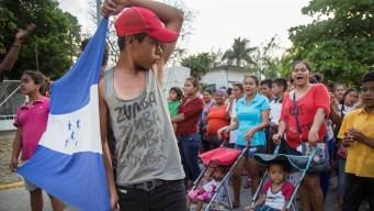 Caravana migrante se prepara para pedir asilo en EEUU