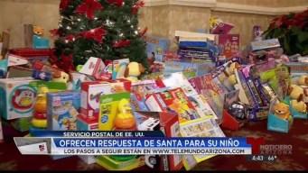 Santa Claus responde a peticiones de arizonenses