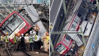 Infernal choque entre camión y tren deja estela de muerte