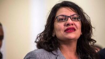 Israel permite a congresista vetada visitar a su familia