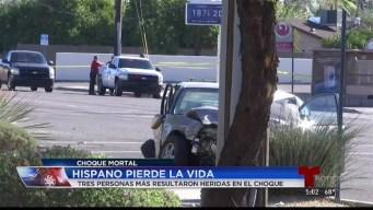 Choque cobra la vida de hombre hispano en Arizona