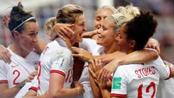 Inglaterra es líder de grupo tras vencer a Japón 2-0
