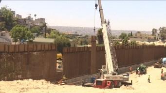 Acaba renovación de 14 millas del muro fronterizo