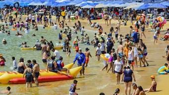 Cinco playas contaminadas con heces en Acapulco