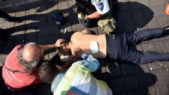 México: realizan funeral de asesinados en plaza cívica