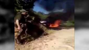 Video capta violencia criminal sin tregua en México