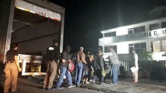 Interceptan a 153 migrantes en Tabasco
