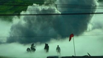 Miles desalojados por fuga de gas en México