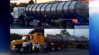 Detienen transporte ilegal de hidrocarburo en la frontera