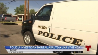 Investigan mortal asalto a vivienda en Tucson
