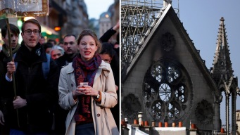 Donan casi $1,000 millones para reconstruir Notre Dame
