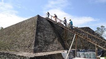 Terremoto deja al descubierto una pirámide en México