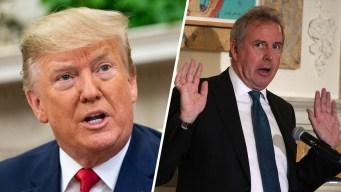 """Renuncia el embajador al que Trump llamó """"estúpido"""""""