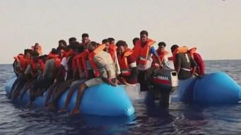 Dolor en alta mar: el drama de los migrantes en balsas