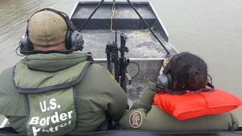 Dramático rescate de niña indocumentada en una isla