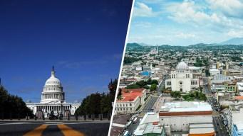 Washington DC y San Salvador: ciudades hermanas