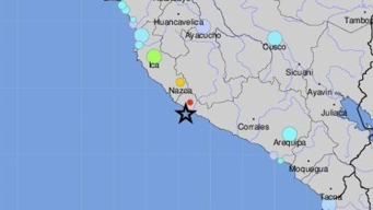 Terremoto de 7.1 grados sacude el sur de Perú