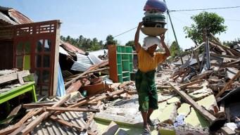 Indonesia: subre cifra de muertos tras fuerte terremoto