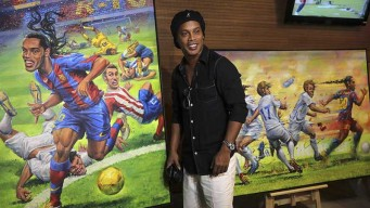 El Maracaná inaugura tour dedicado a Ronaldinho