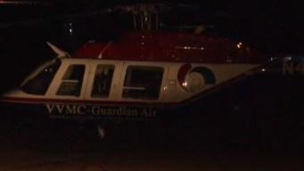 Helicóptero médico aterriza de emergencia al norte de Phoenix