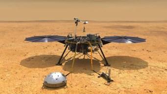 """Tras """"siete minutos de terror"""" NASA aterriza en Marte"""